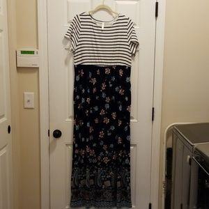 Emerald Maxi Dress - NWOT - size 1X